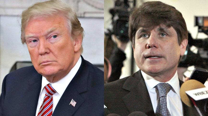 President Trump commutes sentence of Ex-Illinois Gov. Rod Blagojevich