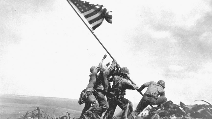 Sunday marks the 75th anniversary of US troops raising the flag at Iwo Jima