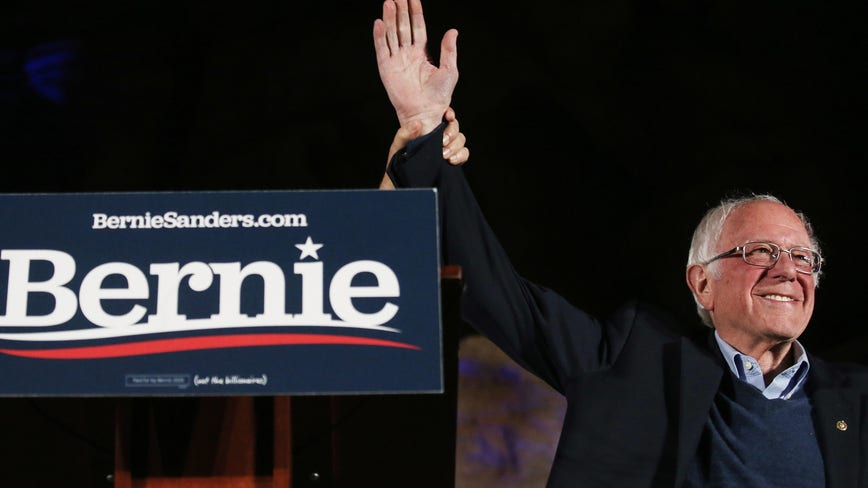 Sanders takes the lead in Nevada Democratic caucuses