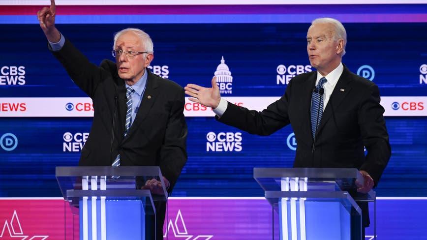 Sanders faces attacks in Democrats' debate-stage clash