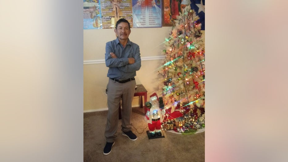 Andres Chan, 61, was shot dead in front of his son. The suspects have not been caught.