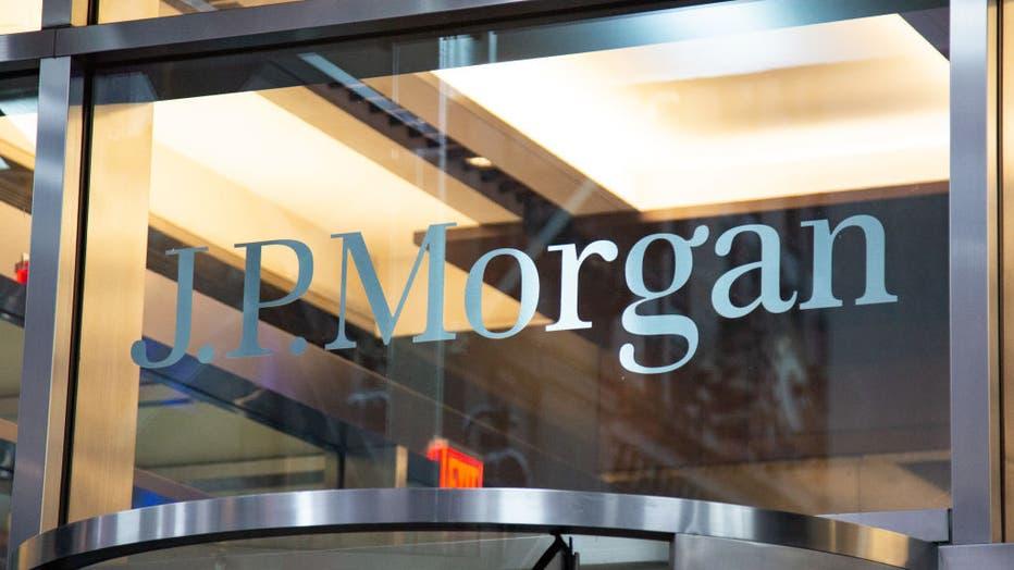 JP Morgan Logo In NY