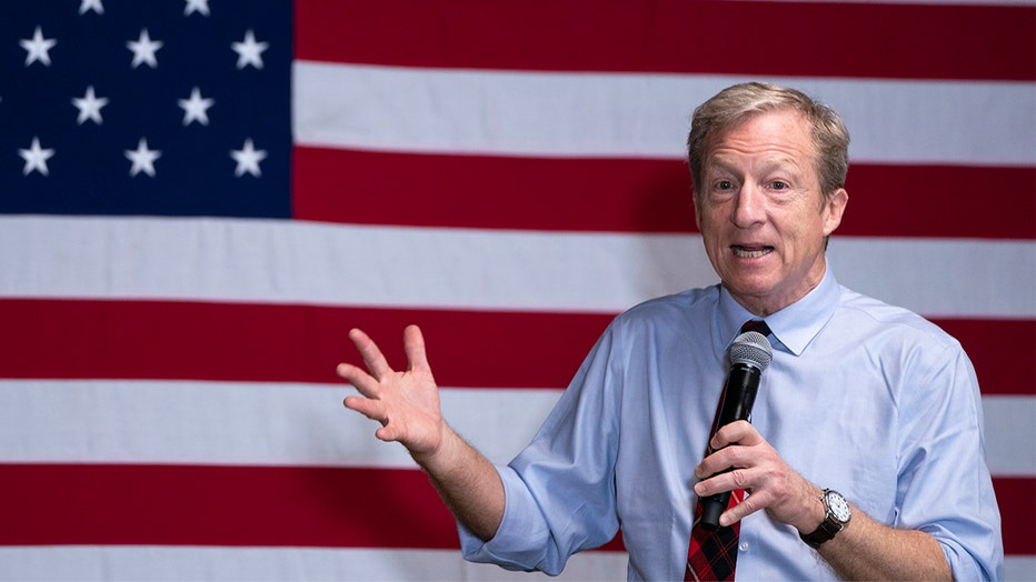 Tom Steyer Campaigns For President In South Carolina