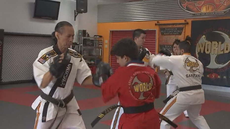 At age 16, Shoham Das has had three open heart surgeries. When he was younger, the Power Rangers television show inspired him to punch and jump, and his mother suggested he take martial arts. He now has a third-degree black belt in Taekwondo.