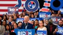Biden avoids mention of race shakeup in Houston