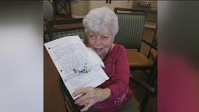 Letters arrive at senior center from all over the globe