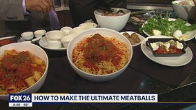 Making the ultimate meatballs