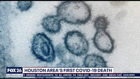Houston area's first COVID-19 death