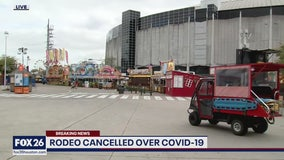 Rodeo cancelled over COVID-19