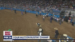 Mutton Bustin' Champ!