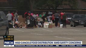 HISD cancels food distribution amid safety concerns