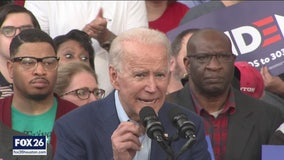Joe Biden energizes base in Houston ahead of Super Tuesday