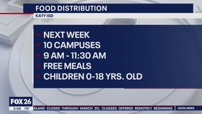 Food distribution being offered to local families