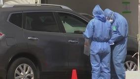 Houston COVID-19 public testing opens to elderly