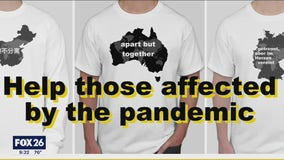 'Apart but together': College students unemployed due to coronavirus design t-shirts for charity