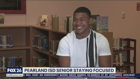 Pearland High School senior is Making the Grade