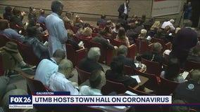 UTMB hosts town hall on coronavirus