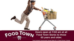 Food Town stores offering Senior Hour for elderly to shop without crowds amid COVID-19 concerns