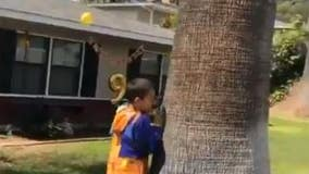 Community sings happy birthday to Riverside boy after party was canceled due to Stay at Home order