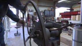 Local wheelwright keeps lost art alive