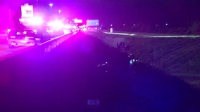 2 injured after car crashes into bayou during police chase