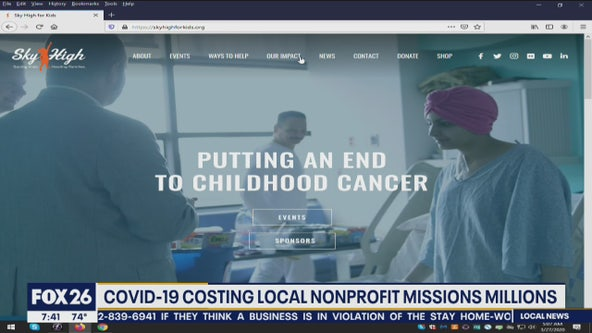 COVID-19 outbreak taking a toll on local nonprofits