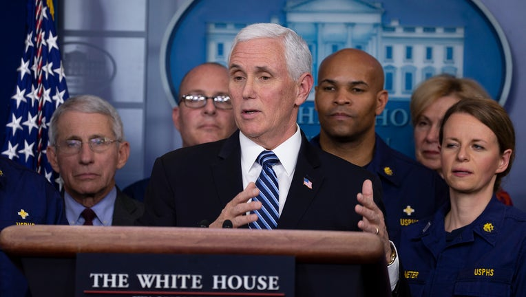 dfa9bb51-President Trump Joins Coronavirus Task Force Press Conference At White House