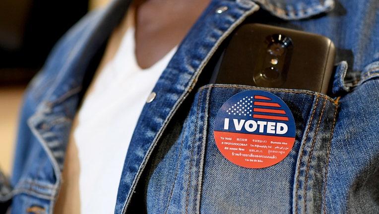 I voted sticker GETTY
