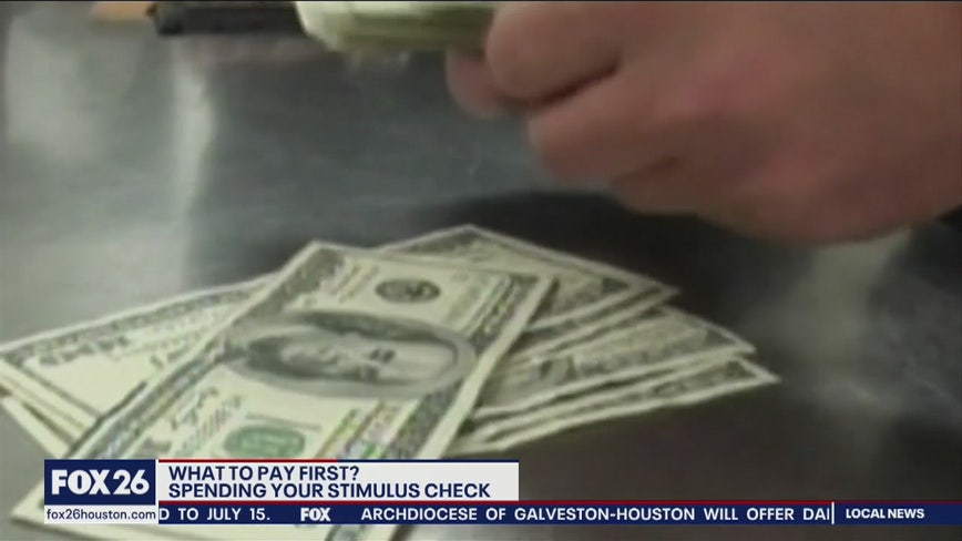 How to prioritize spending your stimulus check