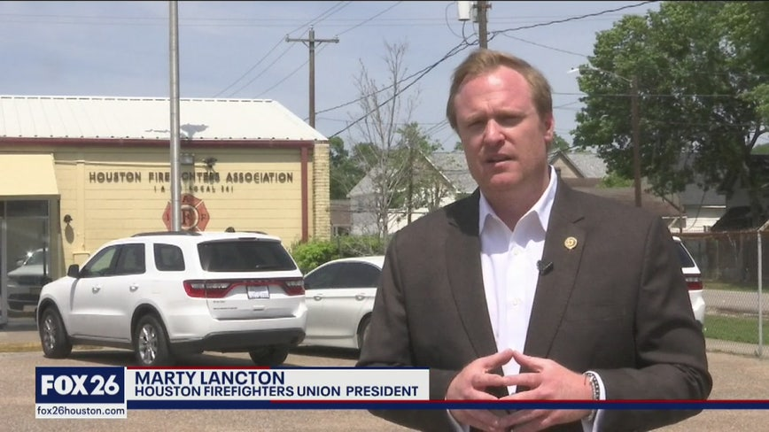 Houston Firefighters Union president Marty Lancton