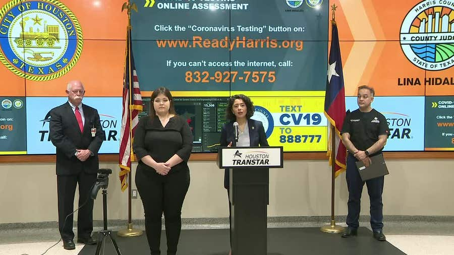 """""""Stay strong"""": Harris Co. Judge pens letter to county residents amid trying times due to COVID-19"""