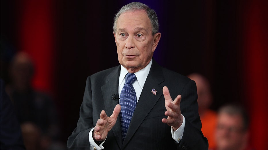 cc772079-Democratic Presidential Candidate Mike Bloomberg Campaigns Ahead Of Super Tuesday