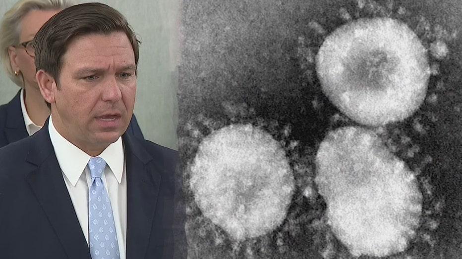 coronavirus governor desantis