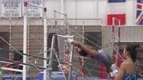 Simone Biles working through Olympics postponement