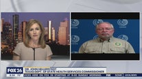 Dr. John Hellerstedt talks about  COVID19 and the new Stay at Home Texas campaign