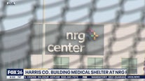 Harris Co. building medical shelter at NRG Park