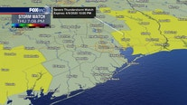 Chambers, Liberty Counties under Severe Thunderstorm Watch