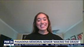 Pasadena Memorial High School senior is Making the Grade