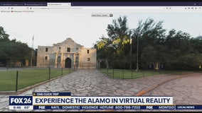 One Click Trip - Virtual tour of the Alamo