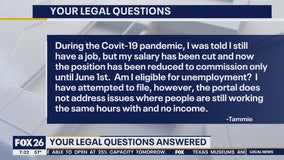 Your Legal Questions - Stimulus payment, returning to work