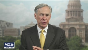 Governor Abbott talks about stay at home order and churches