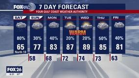 Houston area weather forecast 4-4
