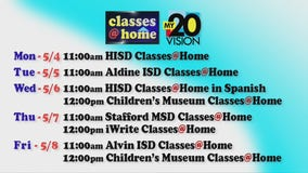 """FOX26/My20's """"Classes At Home"""" initiative is a hit with teachers, students"""