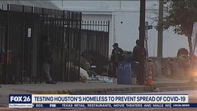 Houston's homeless getting tested for COVID-19