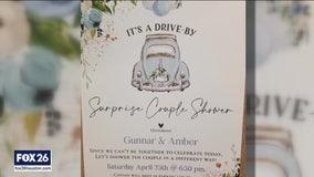 Wedding Shower on Wheels