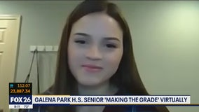 Galena Park High School senior is Making the Grade
