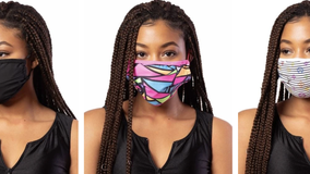Exotic dancewear company makes masks to help stop spread of COVID 19