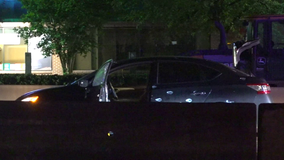 Harris County chase ends with suspect shot