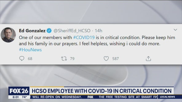 27 Harris County Sheriff's Office employees test positive for COVID-19