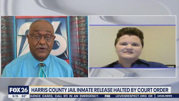 Harris County inmates and the coronavirus